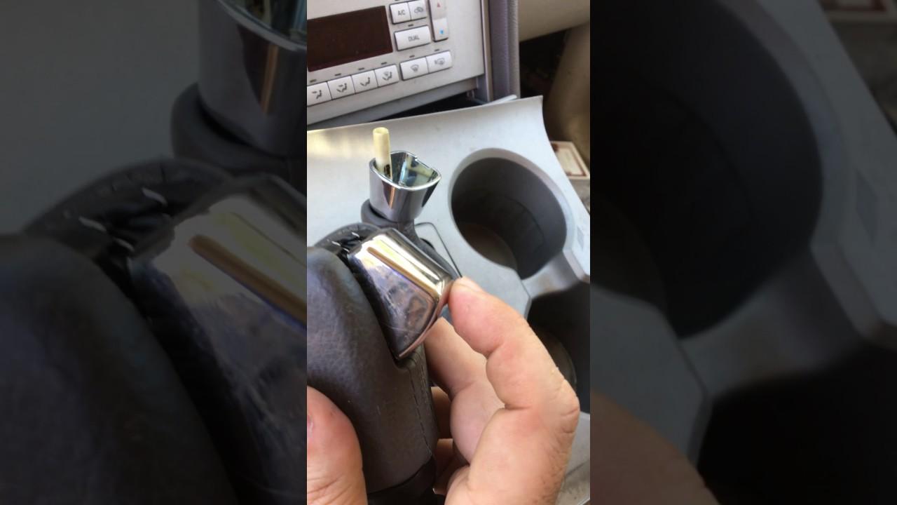 2004 lincoln navigator brake to shifter interlock override [ 1280 x 720 Pixel ]