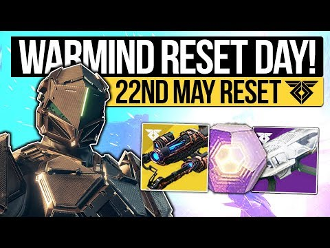 Destiny 2 | WARMIND WEEKLY RESET! New Weapons, Polaris Quest, Iron Banner & Eververse! (22nd May)