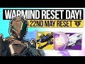 Destiny 2 WARMIND WEEKLY RESET New Weapons Polaris Quest Iron Banner Eververse 22nd May mp3