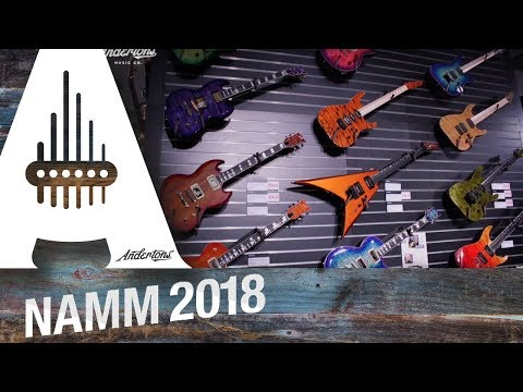 ESP & LTD Guitars - NAMM 2018