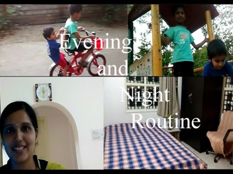 Evening and Night Routine | Indian Minimalist Mom
