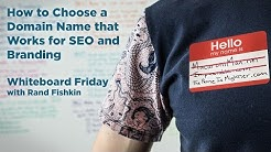8 Rules for Choosing a Domain Name - Whiteboard Friday