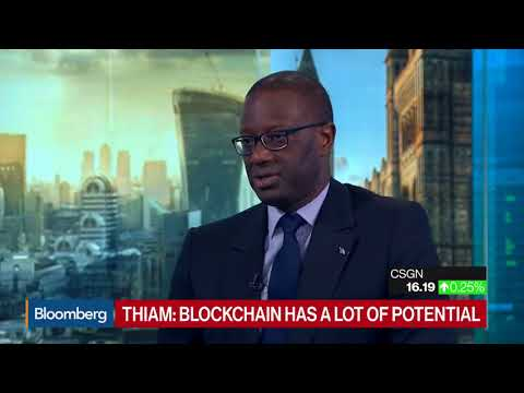 Credit Suisse CEO Thiam talks about Bitcoin and the banking system!