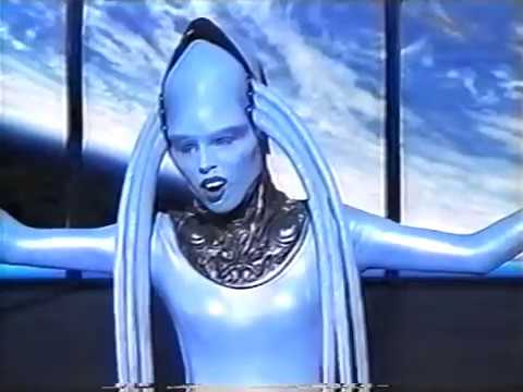"""The Fifth Element Music Video 1997 """"Diva Song"""""""