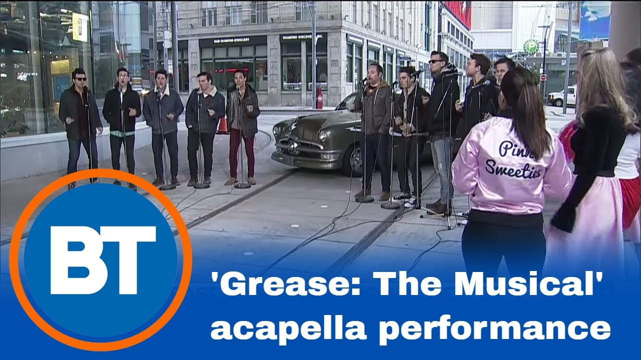 grease the musical u0027 special acapella performance youtube