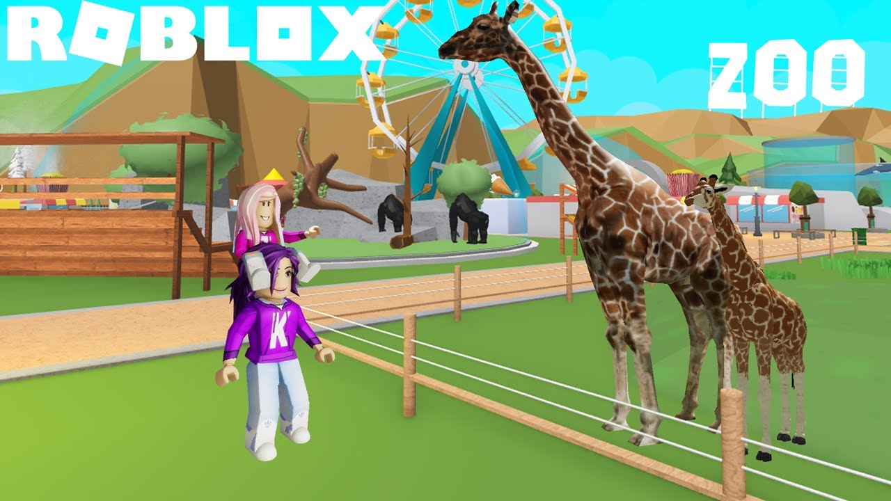 Download We Built a HUGE ZOO on Roblox! 🐒