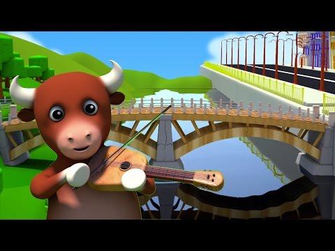 London Bridge Is Falling Down | Детские рифмы и детские песни | Детские стихи | Baby Rhymes & Songs