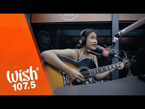 "Rice Lucido performs ""A Letter For Her"" LIVE on Wish 107.5 Bus"