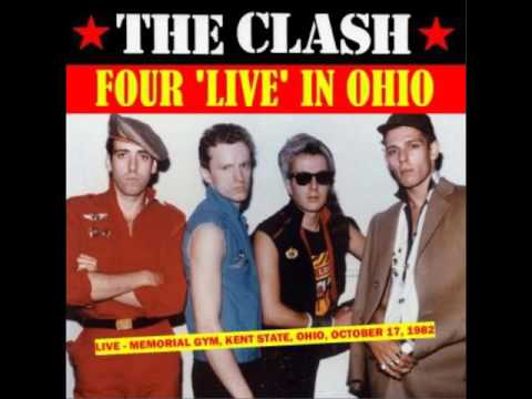 The Clash   Four Live in Ohio Kent State, USA 1982