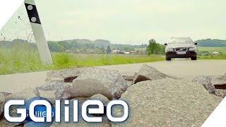 Wie man einen Asphalt-BlowUp überlebt - Can you survive? | Galileo | ProSieben