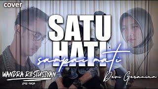 Download Lagu SATU HATI SAMPAI MATI Reggae Version - Wandra Feat Dhevy Geranium | Cover mp3