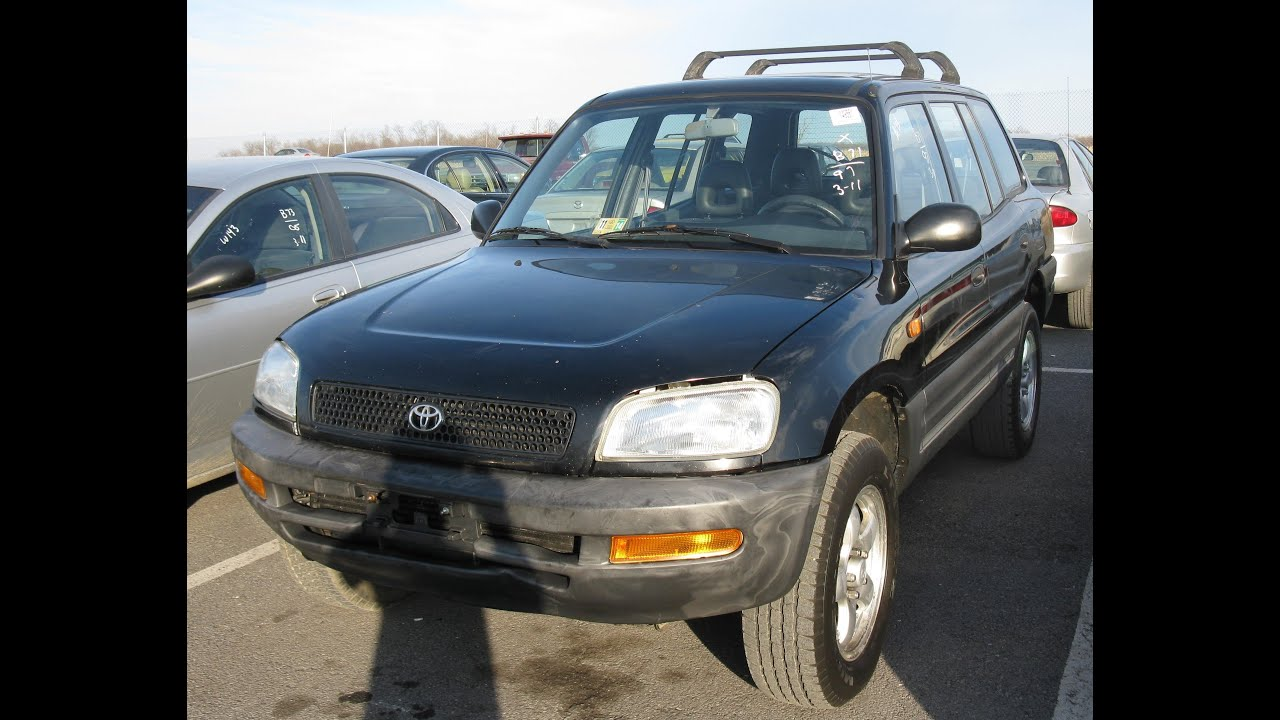 1997 Toyota Rav4 L Start Up And Tour    Review