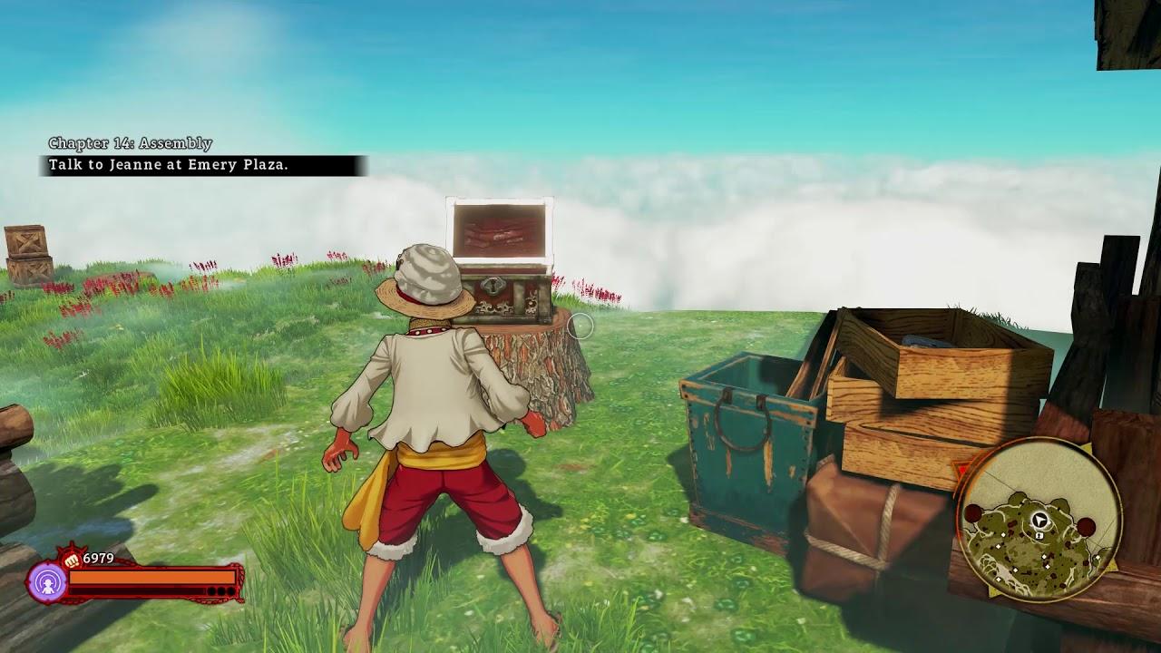 One Piece World Seeker Waterfall Map Treasure Location Youtube
