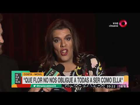 Las polémicas declaraciones de Flor de la V sobre Lizy Tagliani