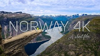 Norway 4K from Adove - (Trolltunga - Bergen - Best Viral Drone Footage)