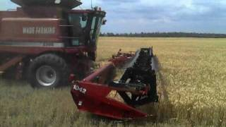 Southern Queensland Wheat Harvest 2011