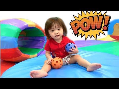 Indoor Playground with Travis