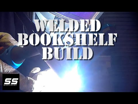 Welded Bookshelf Build | Weekend Projects