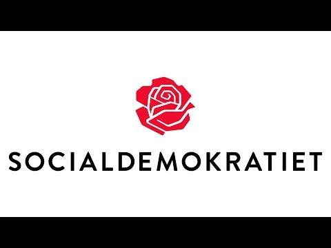 Partiudsendelse med Socialdemokratiet (A) Valg 2017