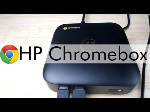 HP Chromebox Unboxing and Quick Review