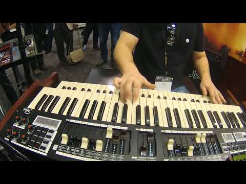 NAMM 2018 - Hammond SKX Organ Jam with Toby Lee Marshall