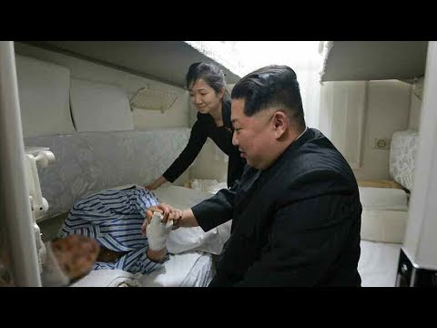 Kim Jong Un Sees Off Train Carrying Chinese Victims From DPRK Traffic Accident