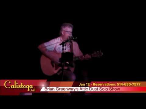 BRIAN GREENWAY'S ATTIC DUST SOLO SHOW 01/12/17