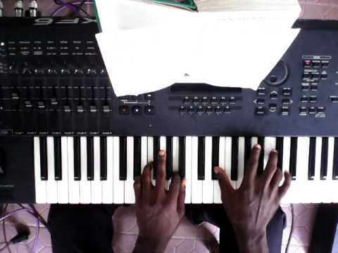 Dipoexcel (Oladipo Bankole)-Piano Hymn Fingering Tutorial-God Our Father We Adore Thee