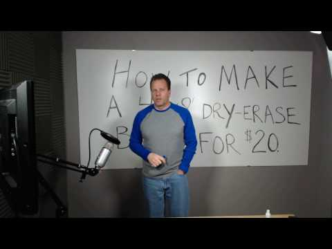 how-to-make-a-4'x8'-dry-erase-board-for-$20