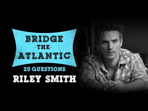 20 Questions with Riley Smith Musician & Actor  Nashville, True Blood, True Detective, 24