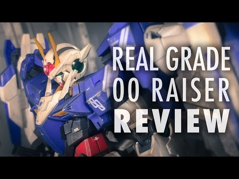 1/144 RG 00 Raiser (Mobile Suit Gundam 00) | REVIEW