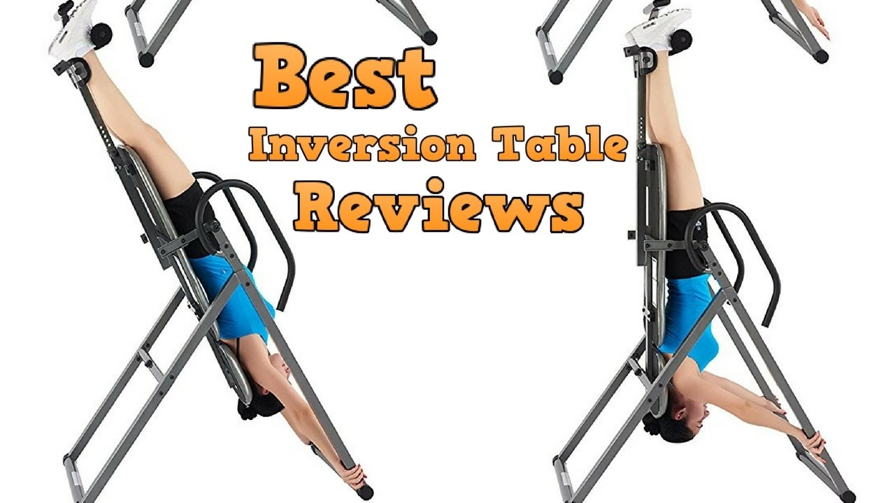 Inversion Table Reviews Best Inversion Tables For 2017