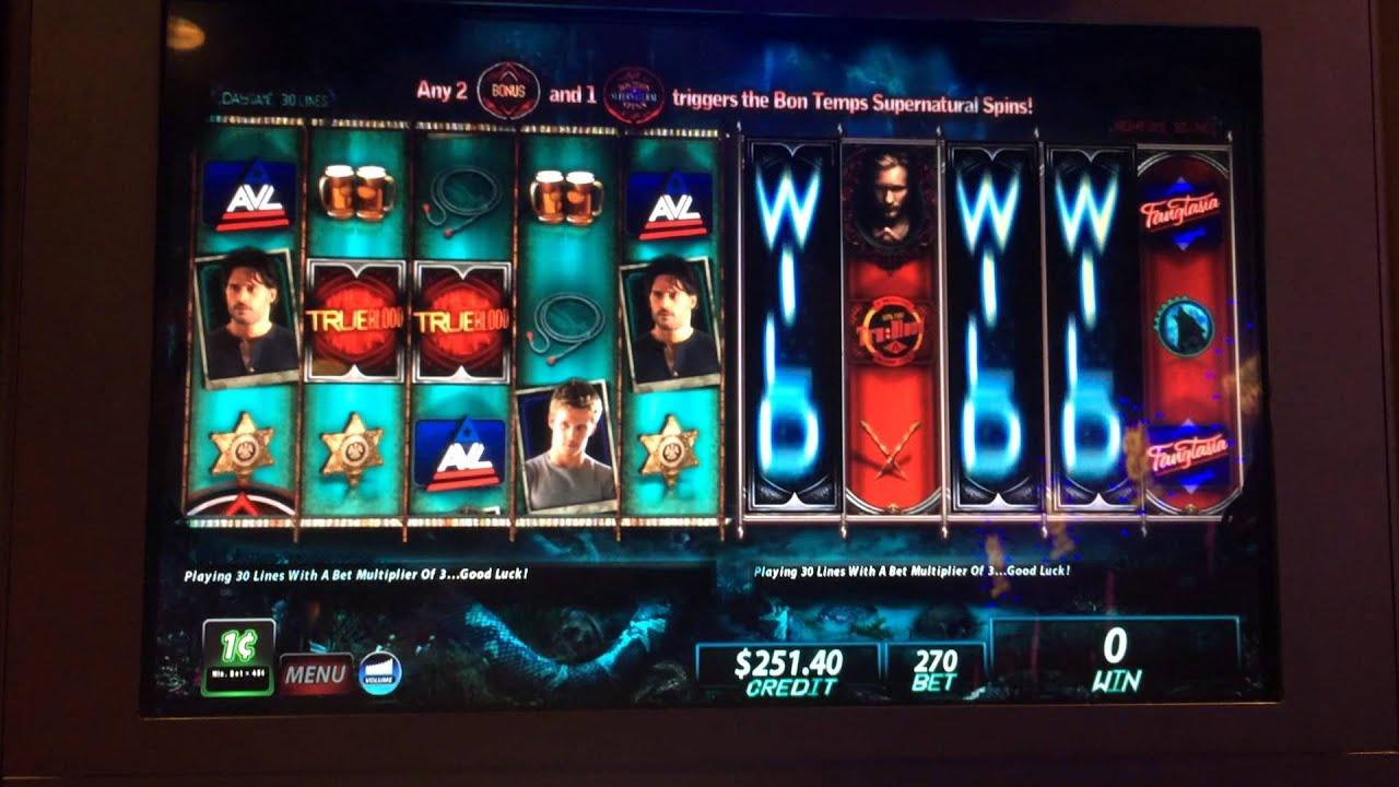 True Blood Slot Machine