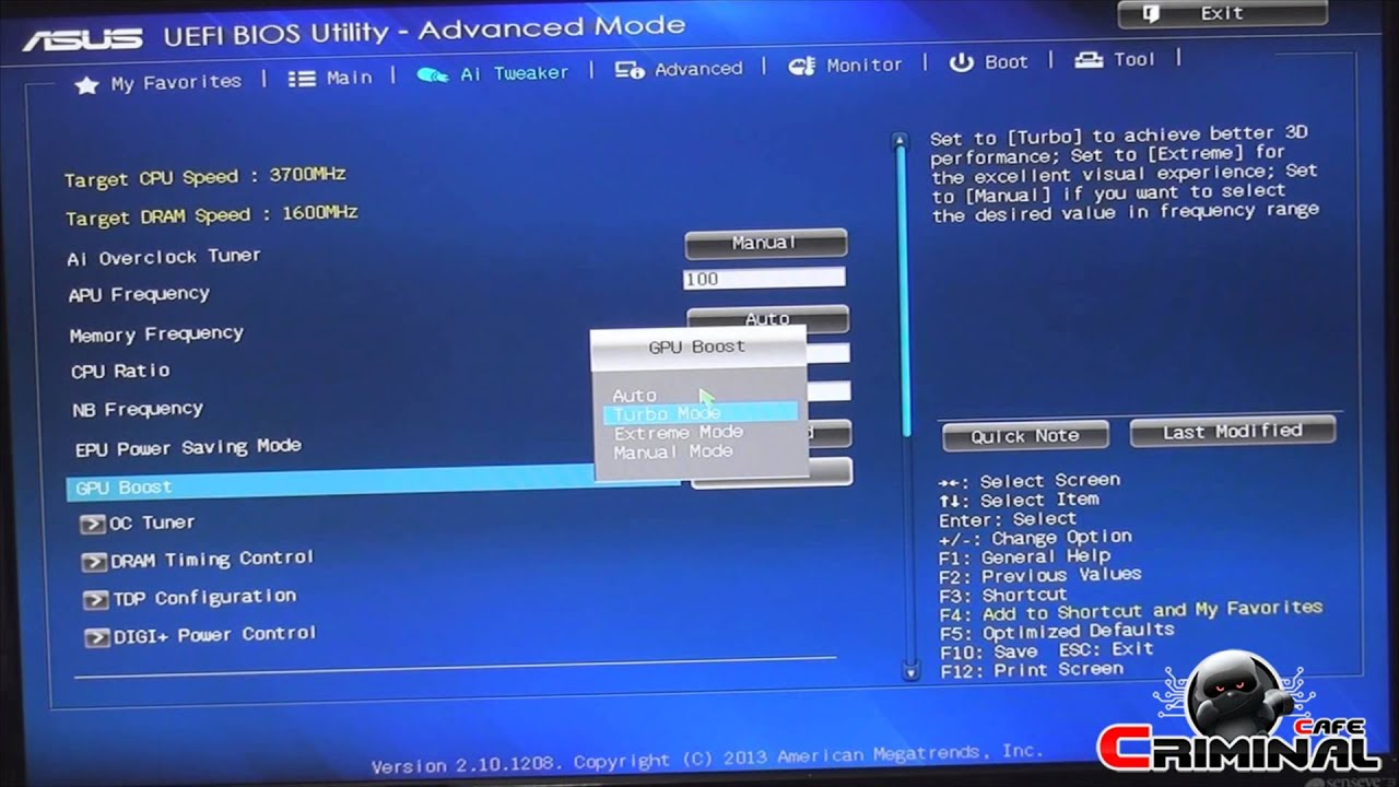 A10 7850K + ASUS A88X Pro - Overclocking