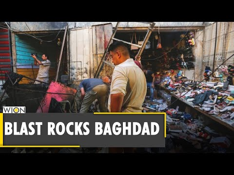 Iraq: At least 35 people killed, 50 wounded in Baghdad market blast  ISIS Attack   Latest World News