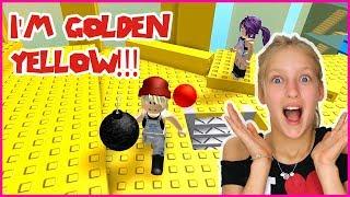 I'm The GOLDEN YELLOW WINNER!
