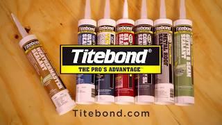 Proper Installation Using Titebond Sealants