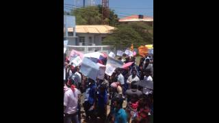 Thousands take part in Ezhuka Tamil rally in Jaffna