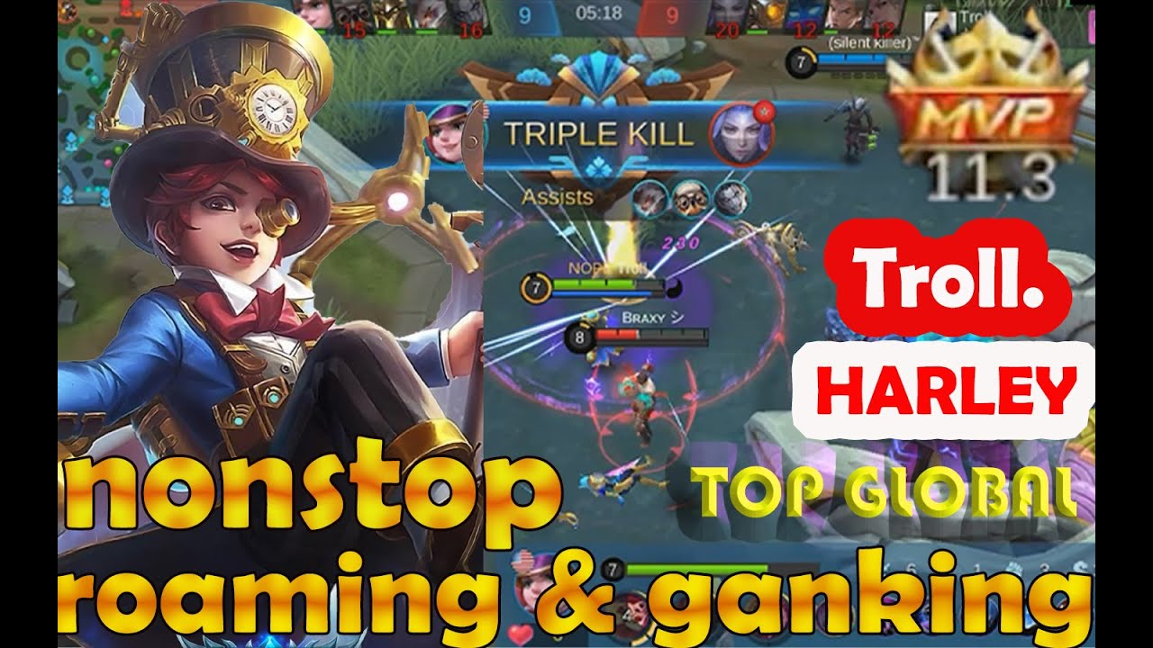 New Build Harley 2020 Perfect Rotation Top Global Play By Troll Youtube