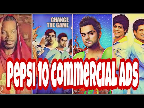 Top 10 Pepsi Commercial Ads With Celebrity Cricketers||best Pepsi Ads||all Time Famous Ads Pepsi||