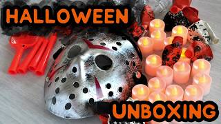 Aliexpress Halloween Unboxing Haul