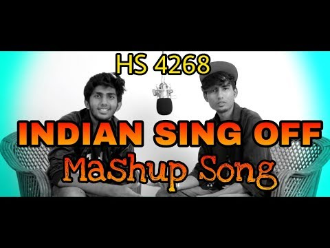 Indian_Sing_Off | The Indian Song Mashup | Hollywood VS Bollywood Song 2018