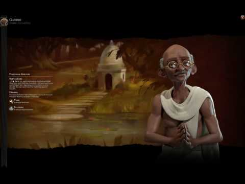 Civ 6 India (Gandhi) Theme music -Ancient era