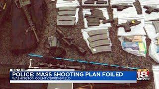 Police: Mass Shooting Plan Foiled