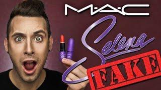FAKE ASS M•A•C Selena Lipsticks!