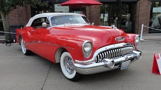 1953 Buick Skylark in Red paint and White Convertible Top - My Car Story with Lou Costabile