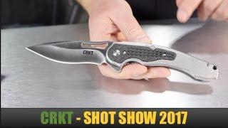 SHOT Show 2017: CRKT Knives -- New Ken Onion Designs, Fixed Blade Knives & Folding Pocket Knives