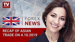 InstaForex tv news: 04.10.2019: USD weakens ahead of NFP report (USDX, JPY, USD, AUD)