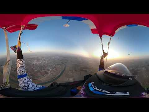 DORAGON&SPEEDSTAR Skydiving VR