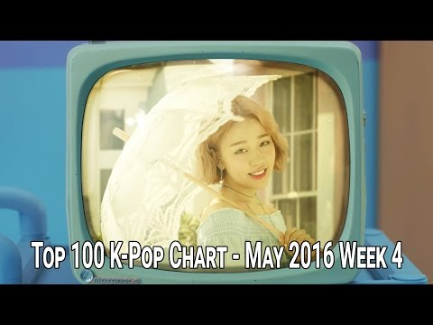 TOP 100 KPOP SONGS CHART - MAY 2016 WEEK 4
